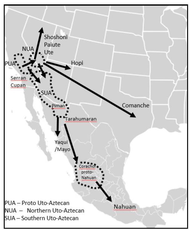 PUA map